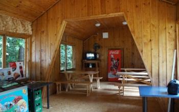 Bar w OW Słoneczne Wzgórze na Mazurach