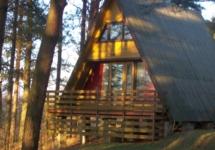 Noclegi na Mazurach nad jeziorem Świecajty, Domek BRDA